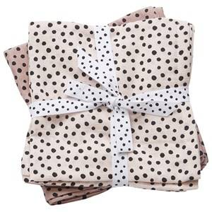 Done by Deer Girls Norway Assort Textile Pink Swaddle 2-Pack Happy Dots Powder