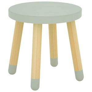 Flexa Furniture Unisex Furniture Green Play Stool Mint Green