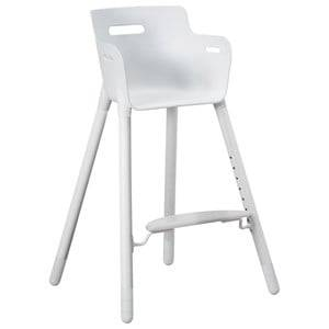 Flexa Furniture Unisex Furniture White High Chair with Safety Rail White