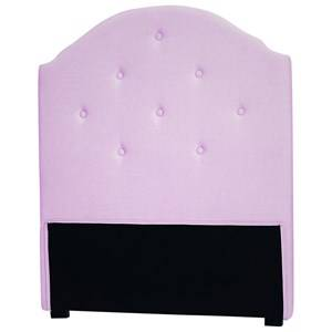 Kids Concept Unisex Furniture Pink Star Headboard Pink