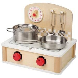 Hape Unisex Role play Multi Tabletop Cook And Grill