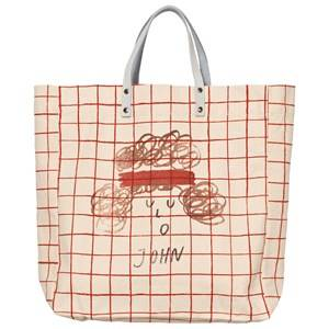 Bobo Choses Unisex Bags White Net Tote Bag John Off White