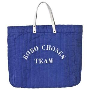 Bobo Choses Unisex Bags Blue Padded Tote Bag A Legend Mazarine Blue