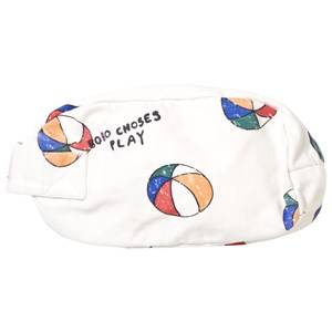 Bobo Choses Unisex Bags White Pouch Basket Ball Off White