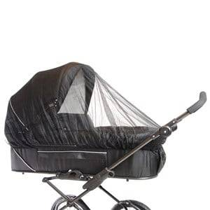 Basson Baby Unisex Norway Assort Stroller accessories Black Carrycot Mosquito Net Black