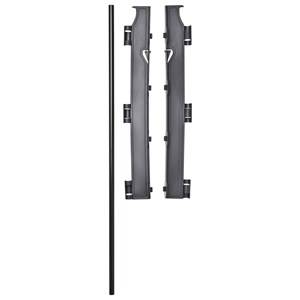 Baby Dan Unisex Baby Gear Baby safety Black Wall Mounting Kit Black