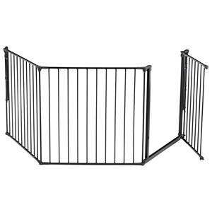 Baby Dan Unisex Norway Assort Baby safety Grey Configure L/Flex L Safety Gate Anthracite