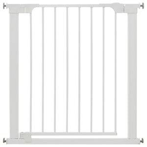 Baby Dan Unisex Norway Assort Baby safety White Two-Way Auto Close Gate White