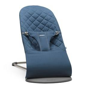 Babybjörn Unisex Norway Assort Furniture Navy Bouncer Bliss Cotton Midnight Blue
