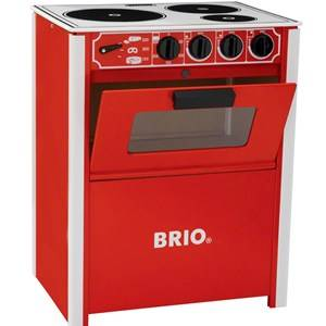 Brio Unisex Role play Red Stove Red