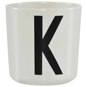 Design Letters Unisex Norway Assort Tableware White Melamine Cup K