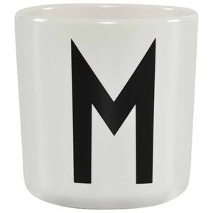 Design Letters Unisex Norway Assort Tableware White Melamine Cup M