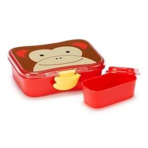 Skip Hop Unisex Norway Assort Tableware Multi Zoo Lunch Box Monkey