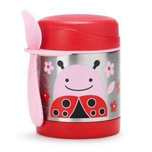 Skip Hop Unisex Baby Gear Lunch boxes and containers Red Zoo Insulated Food Jar Ladybug
