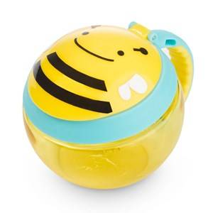 Skip Hop Unisex Norway Assort Lunch boxes and containers Multi Zoo Snack Cup Bee