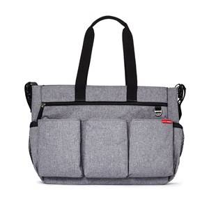 Skip Hop Unisex Norway Assort Bags Grey Duo Double Signature Diaper Bag Heather