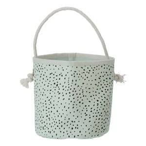 ferm LIVING Unisex Storage Green Mint Dot Basket - Mini