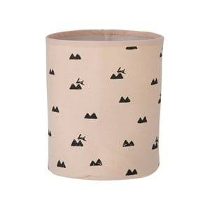 ferm LIVING Unisex Storage Pink Rabbit Basket - Small