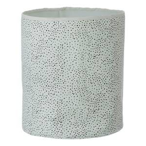 ferm LIVING Unisex Storage Green Mint Dot Basket - Medium