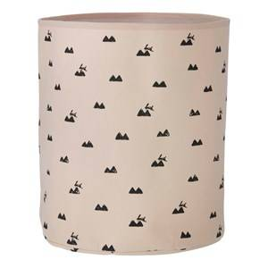 ferm LIVING Unisex Storage Pink Rabbit Basket - Medium