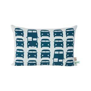 ferm LIVING Unisex Textile Blue Rush Hour Cushion