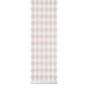 ferm LIVING Unisex Home accessories Grey Harlequin Wallpaper - Grey