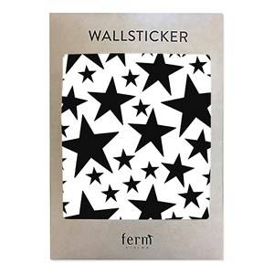ferm LIVING Unisex Home accessories Black Mini Stars Wallsticker - Black