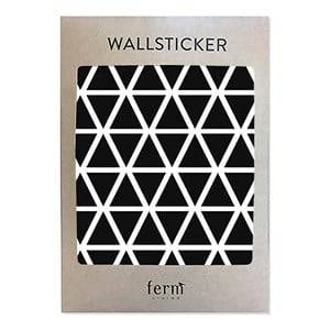 ferm LIVING Unisex Home accessories Black Mini Triangles Wallsticker - Black