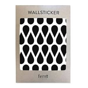 ferm LIVING Unisex Home accessories Black Mini Drops Wallsticker - Black