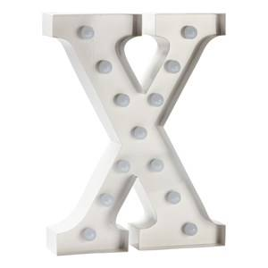 Sweetlights Unisex Lighting White Letter X Mini Marquee Lights White