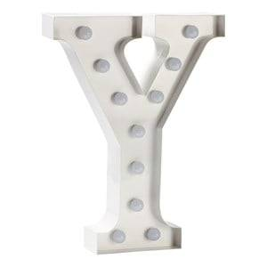 Sweetlights Unisex Lighting White Letter Y Mini Marquee Lights White