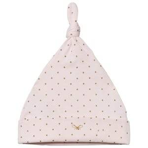 Livly Girls Winter sets Pink Saturday Tossie Hat Baby Pink/gold Dots