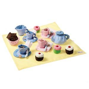 oskar&ellen; Unisex Role play Yellow Tea Set