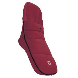 Bugaboo Unisex Stroller accessories Red Footmuff Ruby Red