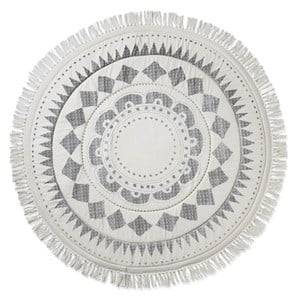 Elodie Details Unisex Textile White Play Mat Graphic Devotion Fringe