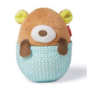 Skip Hop Unisex Lighting Brown Moonlight & Melodies Hug Me Bear Projection Soother