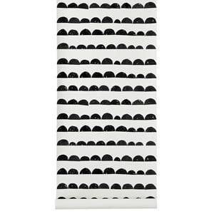 ferm LIVING Unisex Home accessories Black Half Moon Wallpaper - Black