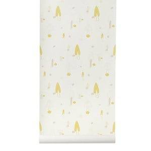 ferm LIVING Unisex Home accessories Pink Forest Wallpaper - Rose