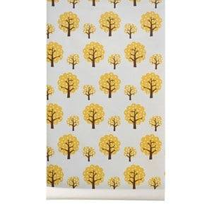 ferm LIVING Unisex Home accessories Yellow Dotty Wallpaper - Yellow