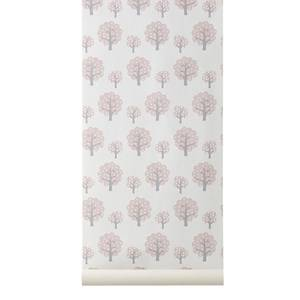ferm LIVING Unisex Home accessories Pink Dotty Wallpaper - Rose