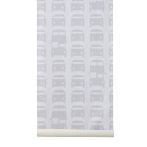 ferm LIVING Unisex Home accessories Grey Rush Hour Wallpaper - Grey