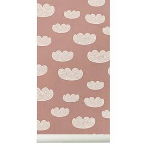 ferm LIVING Unisex Home accessories Pink Cloud Wallpaper - Rose