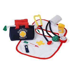 oskar&ellen; Unisex Role play White Doctors Bag