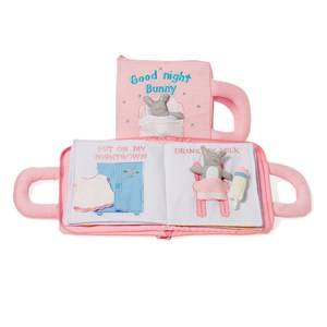 oskar&ellen; Unisex Reading Pink Good Night Book Pink English