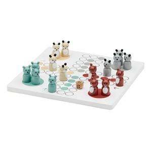 Kids Concept Unisex Puzzles and games White Ludo Game Edvin