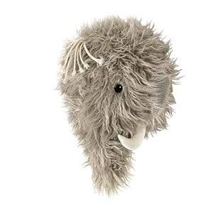 Kids Concept Unisex Home accessories Grey Mammoth Wall Decoration