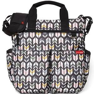 Skip Hop Unisex Bags Grey Duo Signature Diaper Bag Arrows
