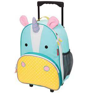Skip Hop Unisex Suitcases Pink Zoo Kid's Rolling Luggage Unicorn