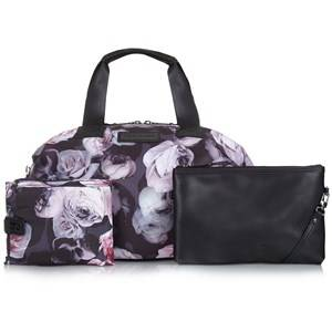 Tiba + Marl Girls Changing and travel bags Black Raf Holdall Bag Goth Floral