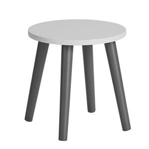 Done by Deer Unisex Furniture Grey Stool Grey